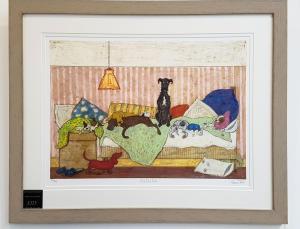 Big Dog Bed by Sam Toft